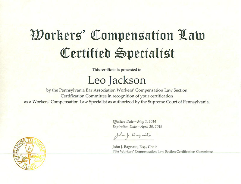 Workers Compensation Criminal Defense Lawyer Personal Injury